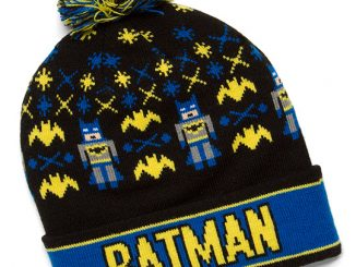 Batman Holiday Pom Beanie