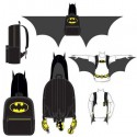 Batman Hooded Backpack With Wings