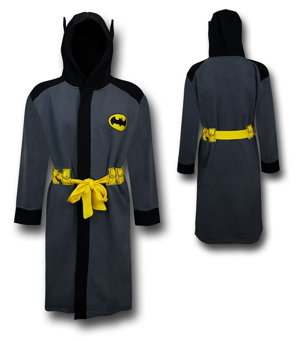 Batman Hooded Bathrobe with Belt