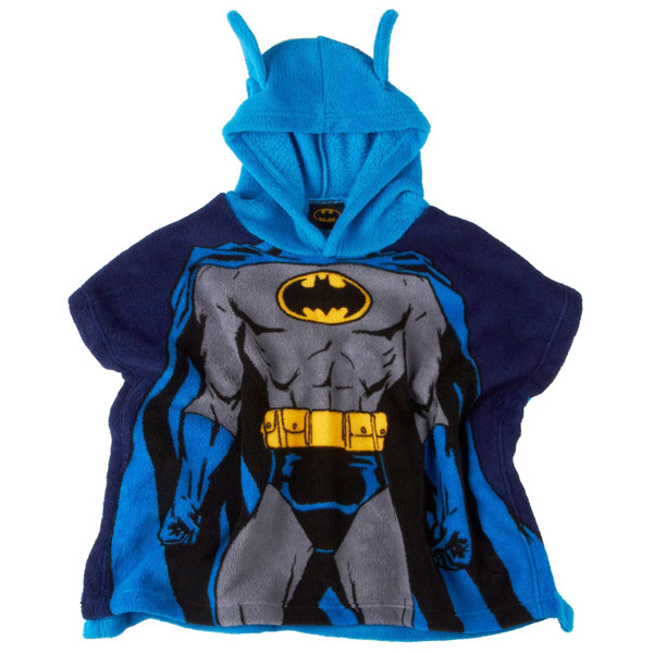 Toddler Batman Hooded Poncho Blanket