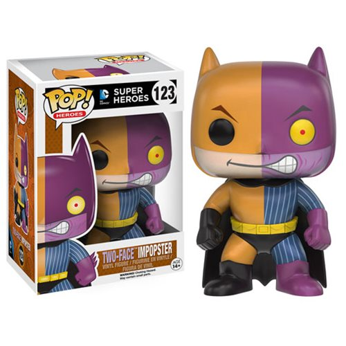 Batman Impopster Two-Face Pop Vinyl Figure