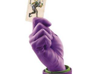 Batman Joker Calling Card Hand Statue