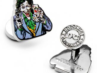 Batman Joker Laughing Cufflinks