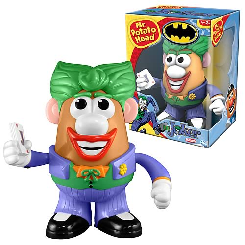 Batman Joker Mr. Potato Head