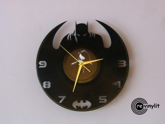 Lego Batman Minifigure Clock
