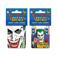 Batman Joker Vote Me Credit Card Bottle Opener