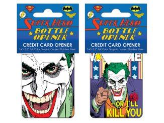 Batman Joker Vote Me Credit Card Bottle Opener