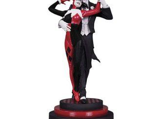 Batman Joker and Harley Quinn Statue