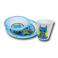 Batman Kawaii Kids Dish Set