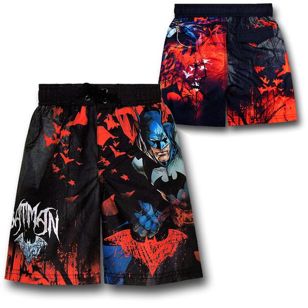 Batman Kids Board Shorts