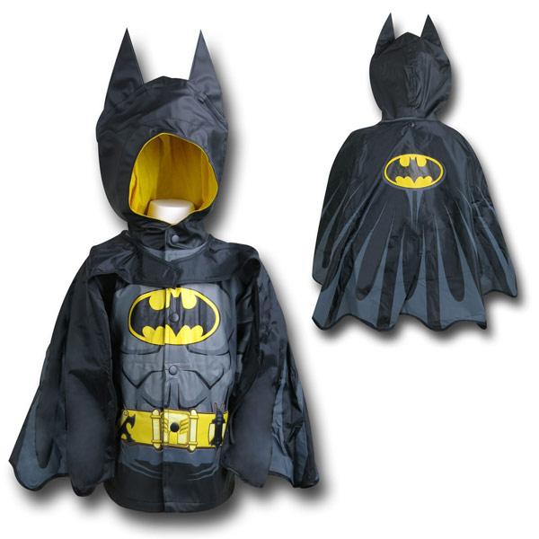 Batman Kids Costume Rain Coat