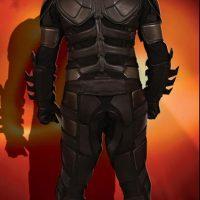 Batman Leather Motorcycle Suit
