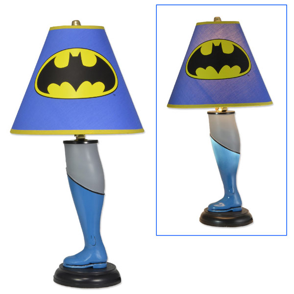 Batman Leg Lamp
