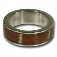 Batman Light Wood Symbol Ring