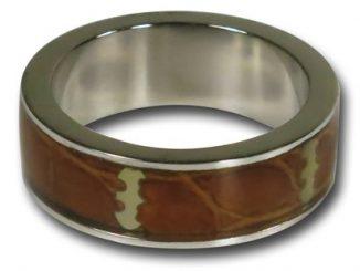 Batman Light Wood Symbol Ring