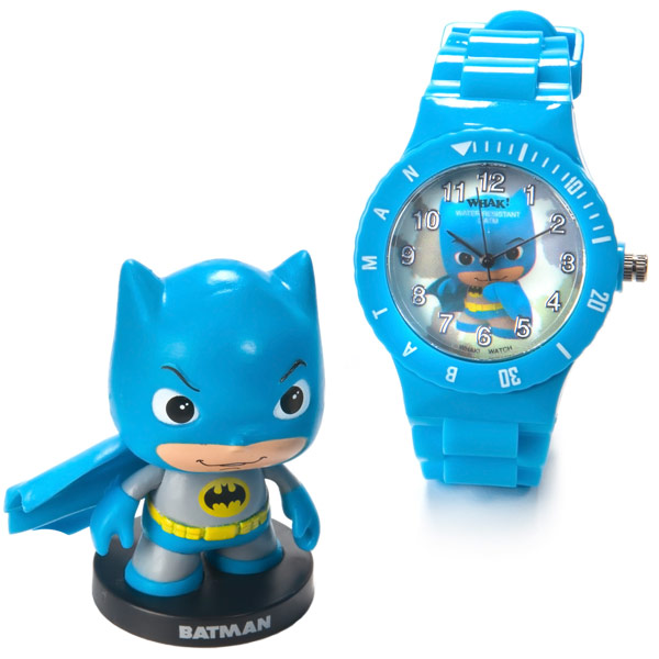 Batman Little Mates Whak Watch and Mini Figure Set