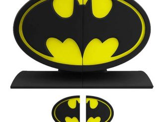 Batman Logo Bookends Statues