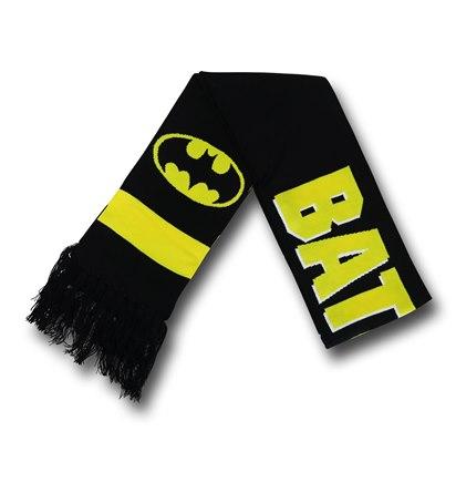 Batman Logo & Symbols Scarf