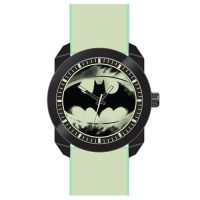 Batman Logo Watch with Glow in the Dark Wristband