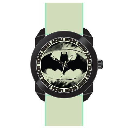 Batman Logo Watch with Glow in the Dark Wristband
