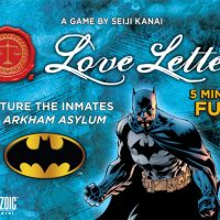 Batman Love Letter Batman Card Game