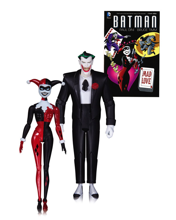 Batman Mad Love Joker and Harley Quinn Action Figures