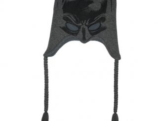 Batman Mask Style Peruvian Knit Hat