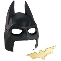 Batman Mask and Batarang Gear