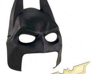 Batman Mask and Batarang Gear
