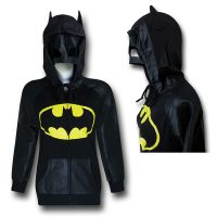 Batman Mask and Hood Womens Hoodie