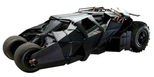 Batman Movie Tumbler Life Size Decal