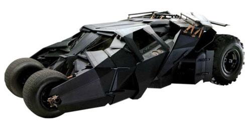 Batman Movie Tumbler Life Size Decal