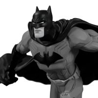 Batman NEW 52 Black & White Statue