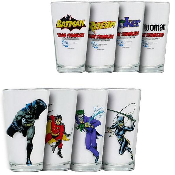 Batman Pint Glass Box Set