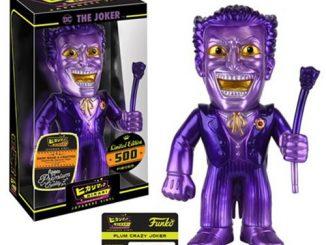 Batman Plum Crazy Joker Hikari Sofubi Vinyl Figure