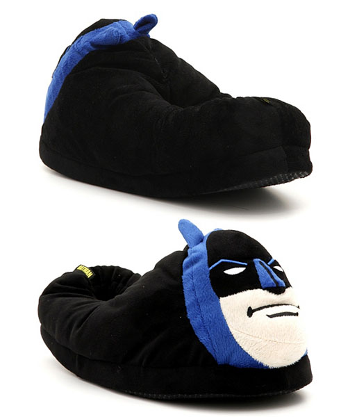 Batman Plush Slippers