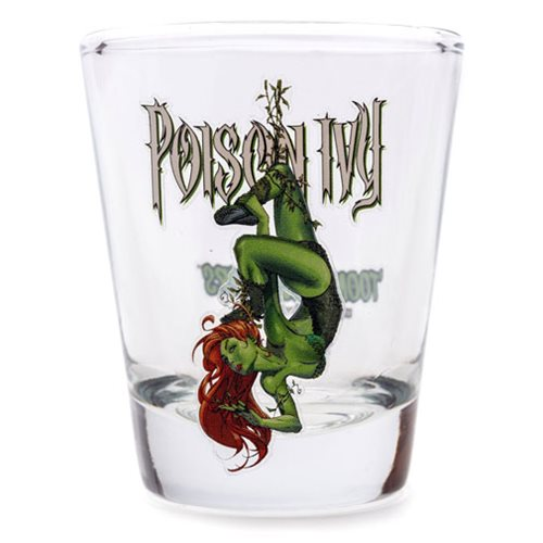 Batman Poison Ivy Shot Glass