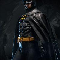 Batman Premium Format Figure Michael Keaton 1989 Batman Film Version Angle