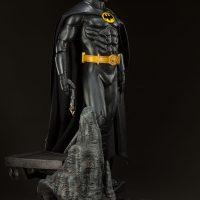 Batman Premium Format Figure Michael Keaton 1989 Batman Film Version Side
