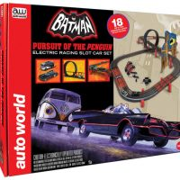 Batman Pursuit of the Penguin Electronic Slot Car Racing