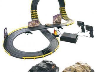 Batman RC Gotham City Getaway Slot Car Playset