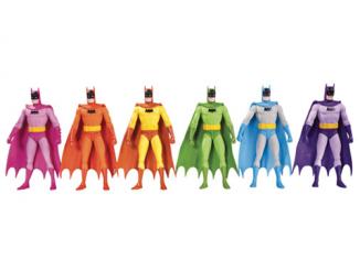 Batman Rainbow Action Figure 6-Pack