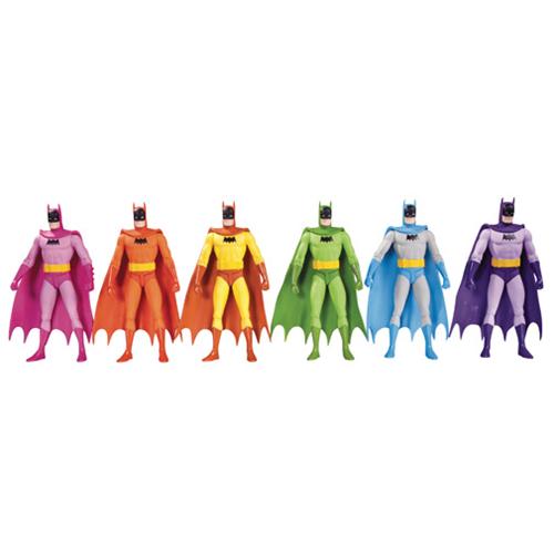 Batman Rainbow Action Figure 6 Pack