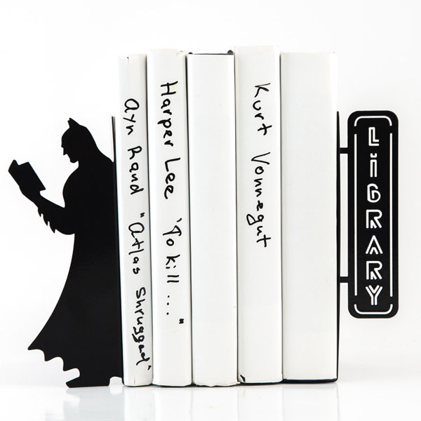 Batman Reading Bookends