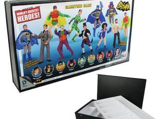 Batman Retro Action Figures Carry Case