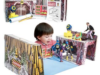 Batman Retro Batcave Playset