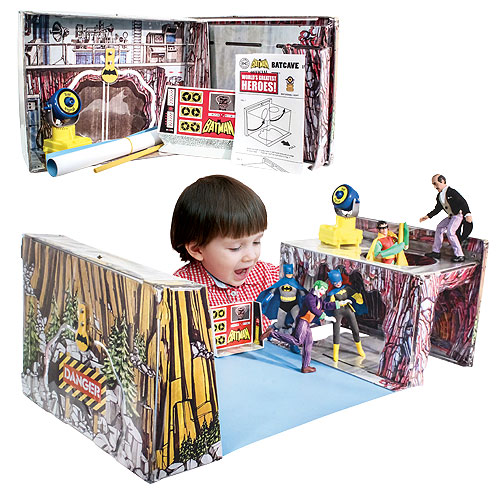 Batman Retro Batcave Playset