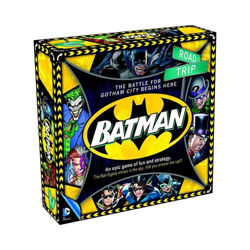 Batman Road Trip Board Game
