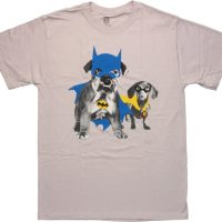Batman Robin Puppy Costumes T Shirt