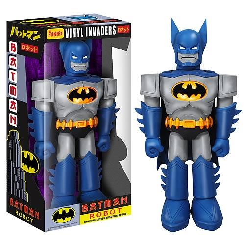 Batman Robot Vinyl Invader 11 Inch Vinyl Action Figure